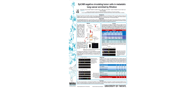 EpCAM negative circulating tumor cells in metastatic lung cancer enriched by filtration