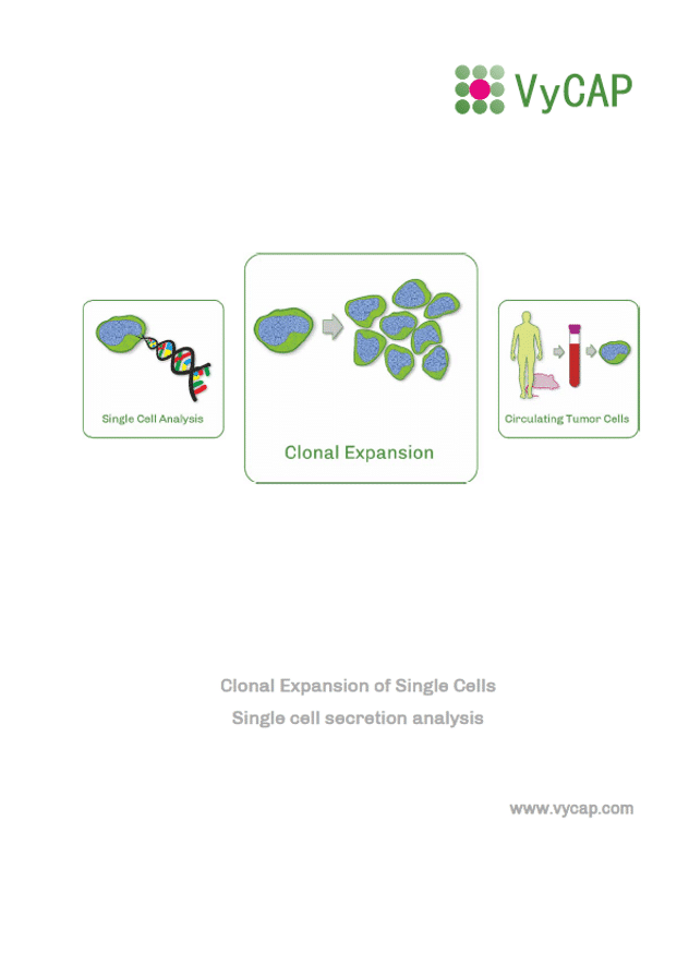 Single cell secretion analysis